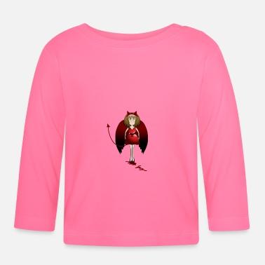 Diable diable - T-shirt manches longues Bébé e147892aec0