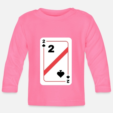 Texas Two spades playing card poker card - Baby Longsleeve Shirt