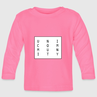 uni logo - Baby Long Sleeve T-Shirt