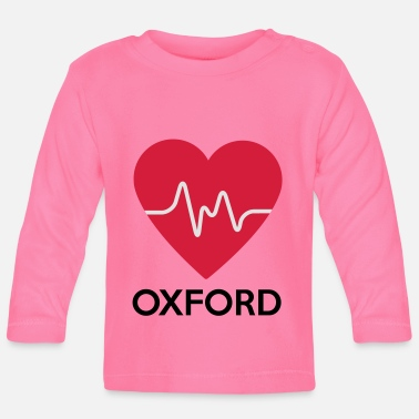 Oxford heart Oxford - Baby Longsleeve Shirt
