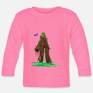 Blasen Muddy, the Studinano Golem - Baby Long Sleeve T-Shirt
