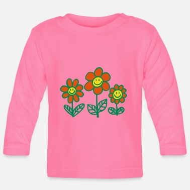 Flower Power Flower Power by Cheerful Madness!! - Baby Long Sleeve T-Shirt