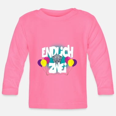 Two FINALLY TWO - Baby Longsleeve Shirt
