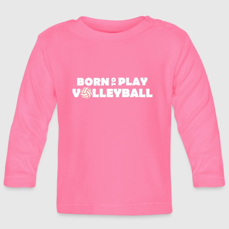 Born to play Volleyball - T-shirt
