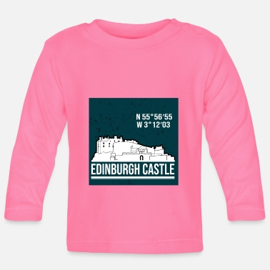 Edinburgh Edinburgh Castle - Baby Longsleeve Shirt