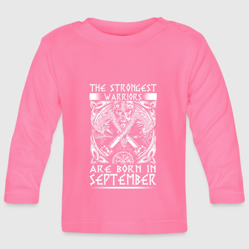 September - Viking - birthday - EN - Baby Long Sleeve T-Shirt