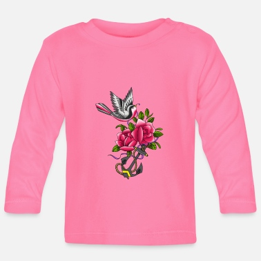 Tatoo Vogel Tatoo - Baby Langarmshirt
