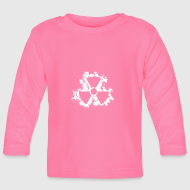 Nuclear Nuclear symbol - Baby Long Sleeve T-Shirt