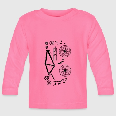Part Bicycle Parts - Baby Long Sleeve T-Shirt
