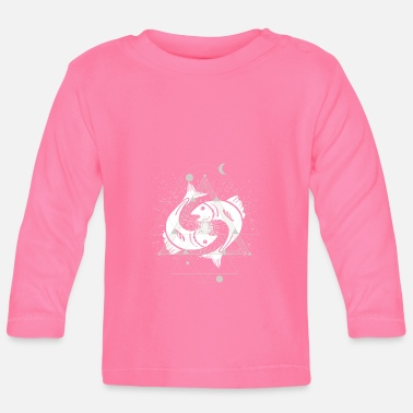 Konstellation fische - Baby Langarmshirt
