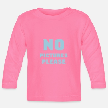 Picture no pictures please - Baby Langarmshirt