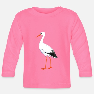 Storch Storch - Baby Langarmshirt
