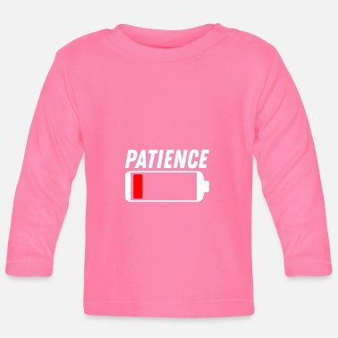 Patience Patience - Baby Langarmshirt