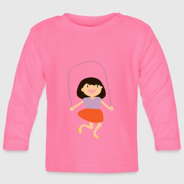 Jumping high jump jumping jump jump ballerina8 - Baby Long Sleeve T-Shirt