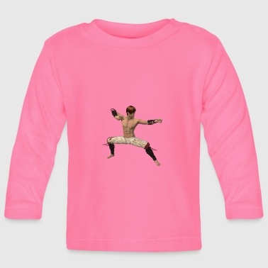 Fighter, asian - Baby Long Sleeve T-Shirt
