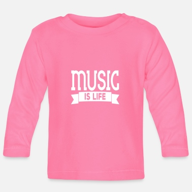 Equalizer music is life - Långärmad baby T-shirt