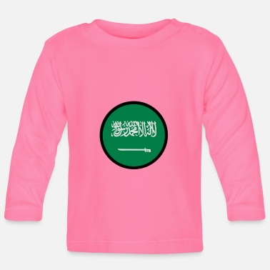 Under The Sign Of Saudi Arabia - Baby Longsleeve Shirt
