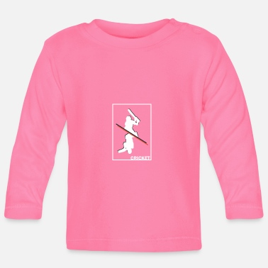 Cricket Cricket cricket cricketer gift - Baby Long Sleeve T-Shirt