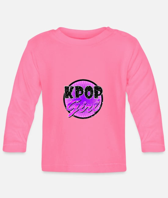 Army Baby Long-Sleeved Shirts - K-Pop girl - Baby Longsleeve Shirt azalea