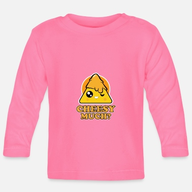 Usa Nacho for parties - Cheesy Much - Baby Longsleeve Shirt