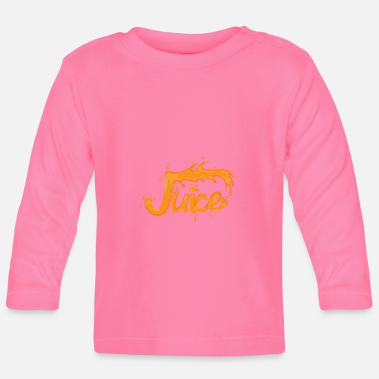 Gift Idea Baby Clothes - Juicy - Baby Longsleeve Shirt azalea