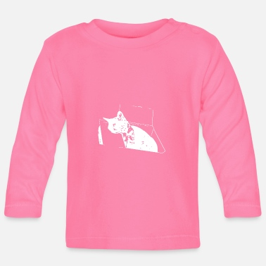 Black Cat Coco Cat - Baby Longsleeve Shirt