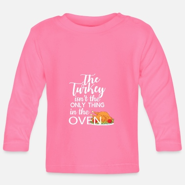 Oven Bun in the oven - Baby Longsleeve Shirt