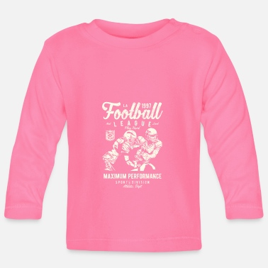American Football Rugby American Football Football League - Långärmad baby T-shirt