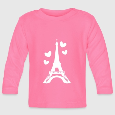 Paris Love in Paris tower - Baby Long Sleeve T-Shirt