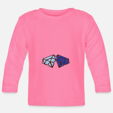 Diamanter diamanter - Langærmet babyshirt