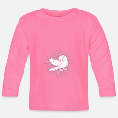 Parrot bird holder gift idea - Baby Longsleeve Shirt