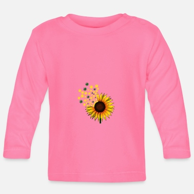 Hemp sunflower - Baby Longsleeve Shirt