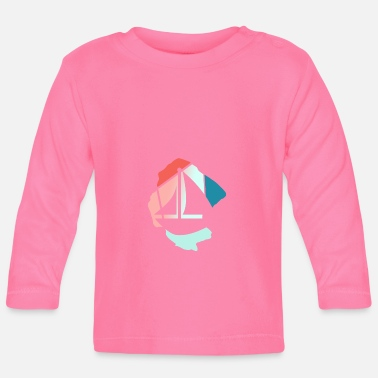 Sailboat sailboats - Baby Longsleeve Shirt