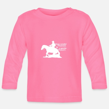 Western Riding Western riding - Baby Long Sleeve T-Shirt