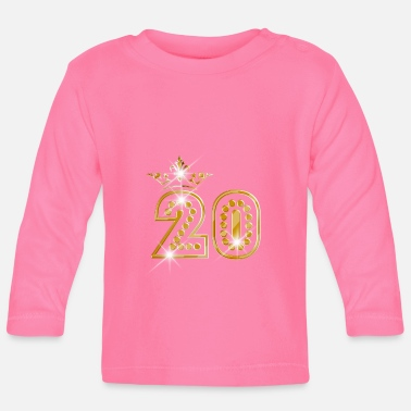 Burlesque 20 - Birthday - Queen - Gold - Burlesque - Baby Longsleeve Shirt