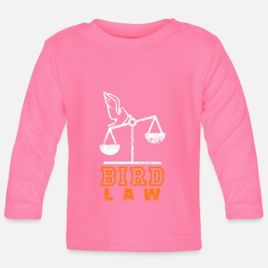 Distressed Bird Law Distressed - Baby Langarmshirt