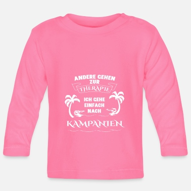 Campania CAMPANIA Therapy Gift Vacation - Baby Longsleeve Shirt