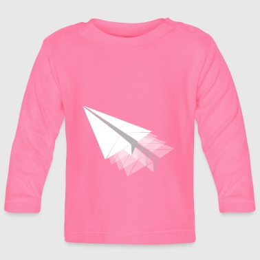 Paper Paper plane paper airplane - Baby Long Sleeve T-Shirt