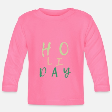 Holidays Holiday Holiday holidays peace - Baby Longsleeve Shirt