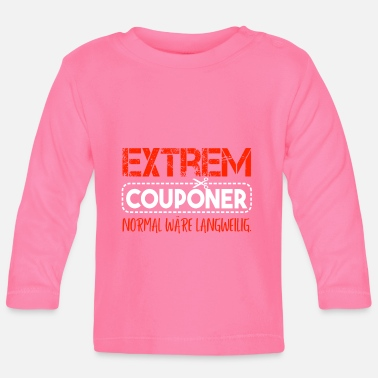 Extreme Couponer Extreem coupon Bewaar coupon - Baby longsleeve