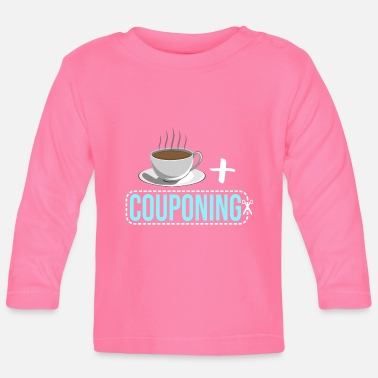 Extreme Couponer Koffie couponeren - Baby longsleeve