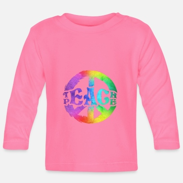 Teaching Teach Peace Teach peace - Baby Longsleeve Shirt