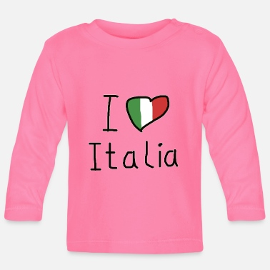 Friends Of Italy I love Italia - Baby Longsleeve Shirt