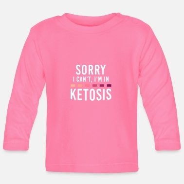 Keto Diet Ketosis Diet Low Carb Gift - Långärmad baby T-shirt