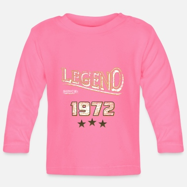Established Legend since 1972 / legend since 1972 / legendary - Baby Longsleeve Shirt