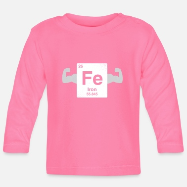 Gamer Iron - nerdy and geeky gift - Baby Longsleeve Shirt