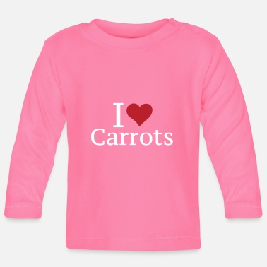 Root Crop I love carrots carrot - Baby Longsleeve Shirt