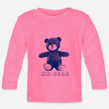 Teddybeer Mr. Bear Lovely - Baby longsleeve