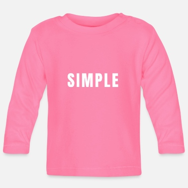 Simple - Baby Longsleeve Shirt