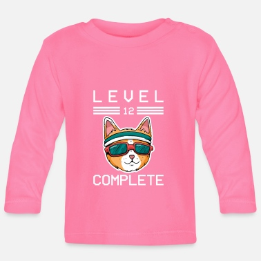 Konsole Cool Gamer Level 12 Complete Gifts 12.Geburtstag - Baby Langarmshirt